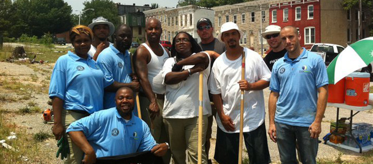 BCGC Trainees at Day of Service